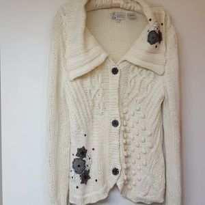 Cousin Johnny Cardigan button down sweater